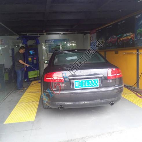 非洗不可智能洗车室