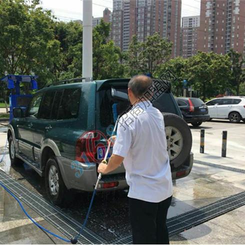 非洗不可智能露天洗车