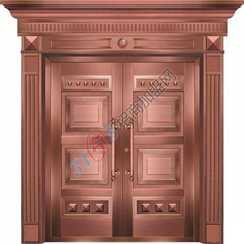 真铜门LD-006