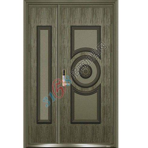 铸铝门LD-104