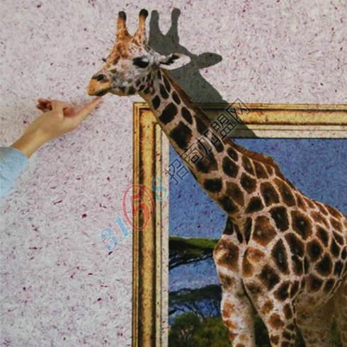 3D长颈鹿
