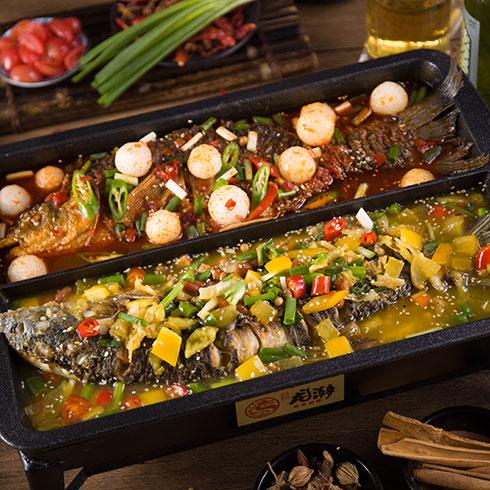 龙潮美式炭火烤鱼-酸辣烤鱼