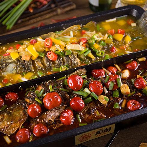 龙潮美式炭火烤鱼-泡椒烤鱼