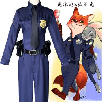 动物城cos服兔子朱迪 狐狸尼克