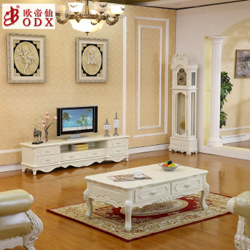 供应客厅欧式茶几 电视柜 客厅大理石茶几 电视柜 工厂直销