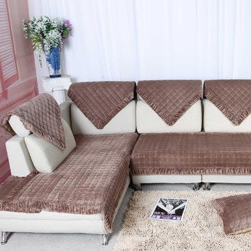 2016新款欧式高档纯色沙发垫