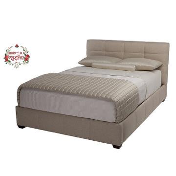 贝克家具床现代简约美式创意定制2016年新款实木布艺