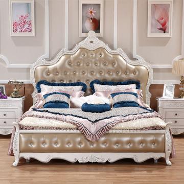 澳林匹斯欧式床实木床新古典双人床公主床酒店奢华