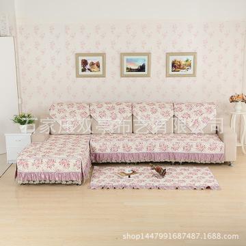 欧式古典布艺沙发垫高档四季沙发巾