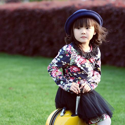 杰米杰妮童装-黑色纱裙