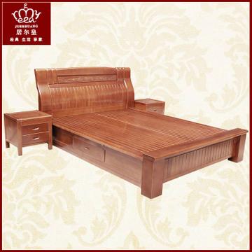 高档欧式家具实木床