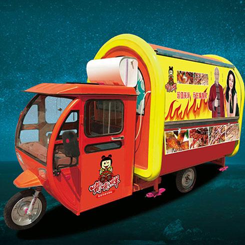 嘴嘴鲜街景餐车-电动贝贝餐车