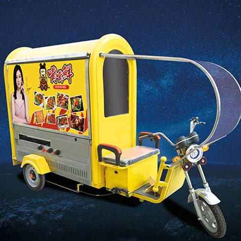 嘴嘴鲜街景餐车-电动小贝贝餐车