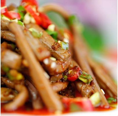 香香宫煮麻辣烫-双椒蕨菜