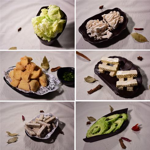 高兴壹锅鲜牛肉火锅-配菜