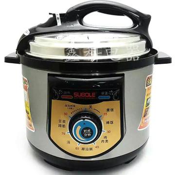 低价款机械式电压力锅 高压锅批发 带预约定时功能压力锅