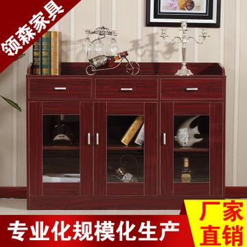 酒红色欧式柜子