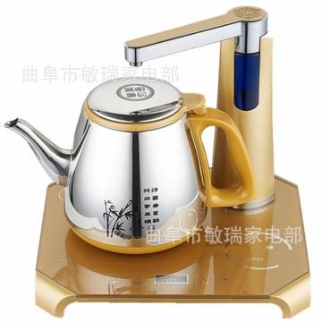 高茗gm-025土豪金全自动上水电水壶 单炉电茶壶 抽水烧水茶艺
