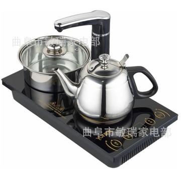 高茗gm-1320全自动电磁炉电水壶双炉电茶壶 加水烧水煮茶器三合一