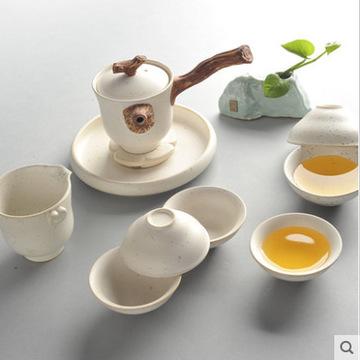 蕴窑 冰晶釉 功夫茶具整套 仿宋汝窑 高档礼品 陶瓷茶具套装特价