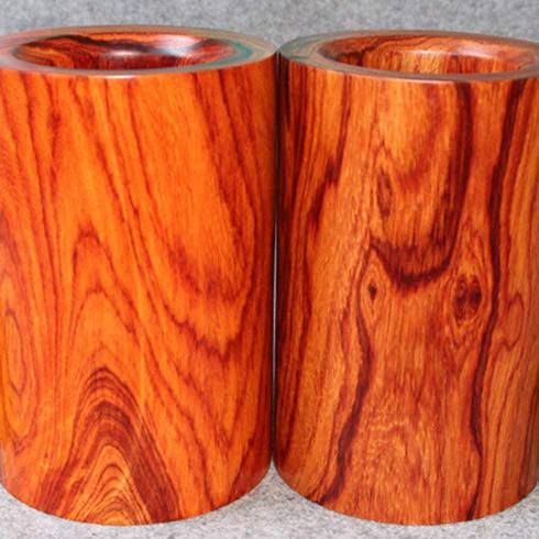 缅甸酸枝木笔筒