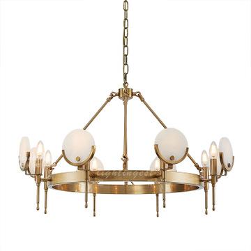 吊灯奢华吊灯米高弗洛拉客厅餐厅吊灯配套家具设计师