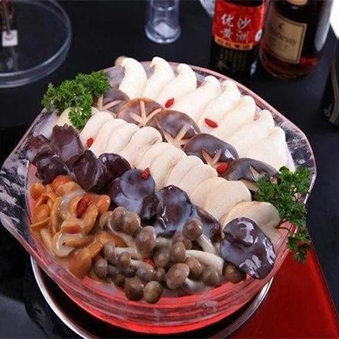 九段香火锅-菌类水晶锅