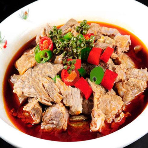 冒三鲜冒菜-麻椒水煮牛肉
