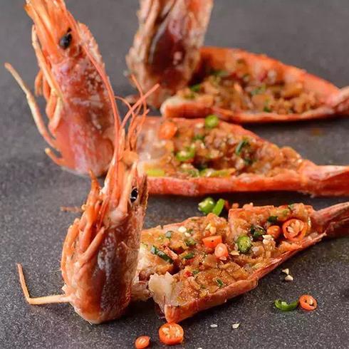一〇八匠众创烧烤-美味烤虾