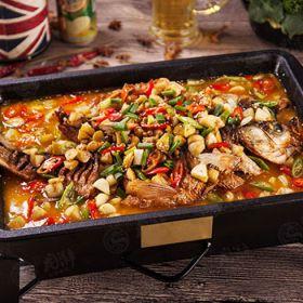 龙潮炭火烤鱼