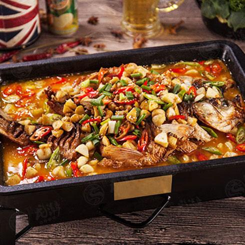 龙潮美式炭火烤鱼-老北京蒜香