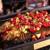 龙潮美式炭火烤鱼-西雅图泡椒