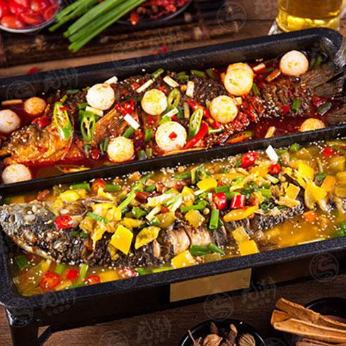 龙潮美式炭火烤鱼-一锅两吃 (1)