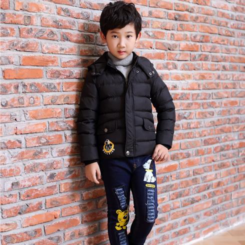 贝蕾尔-外套中大童冬装男童秋冬装棉服