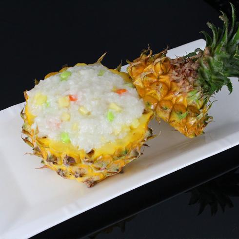 云水越过桥米线-菠萝蜜糕