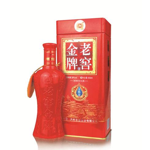 泸州老窖系列酒-方铁盒