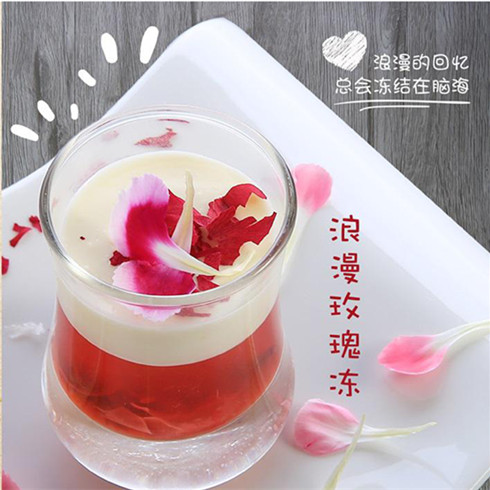 浪漫玫瑰冻