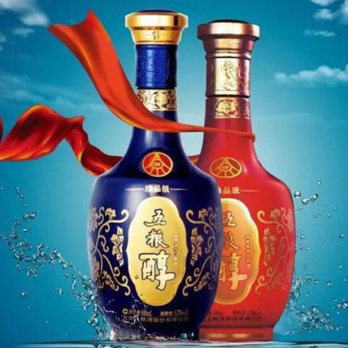 五粮醇白酒-五粮醇红蓝瓶