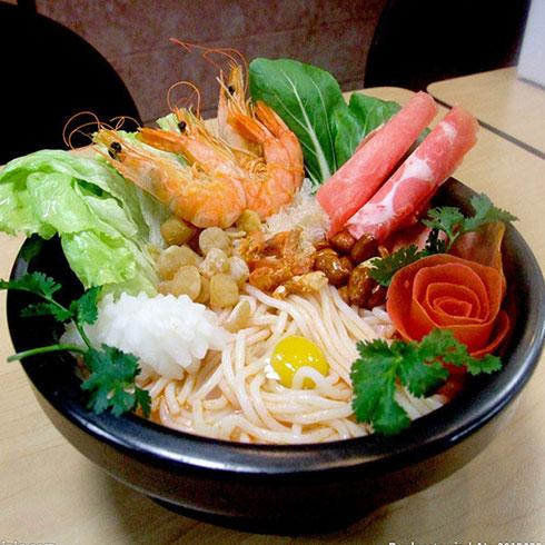 鱼的门烤鱼-海鲜米线