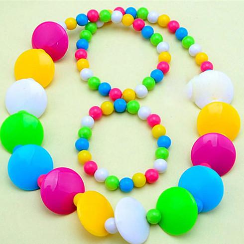 糖果珠项链手链珠子