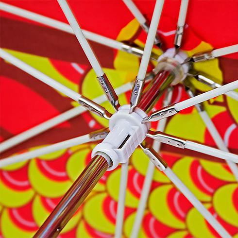 舞龙伞伞内细节