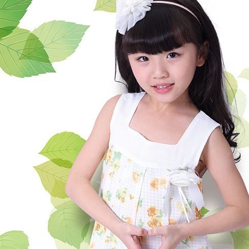 阿当奇童装-可爱时尚裙装