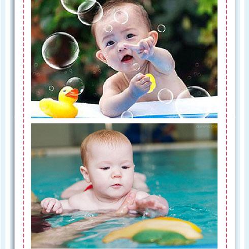邻家儿女宝宝游泳