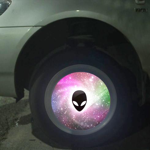 车驰炫百变光影轮——星空图案