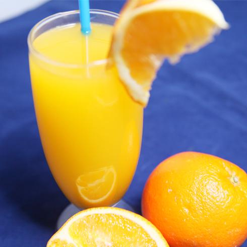 贝克汉堡-橙汁