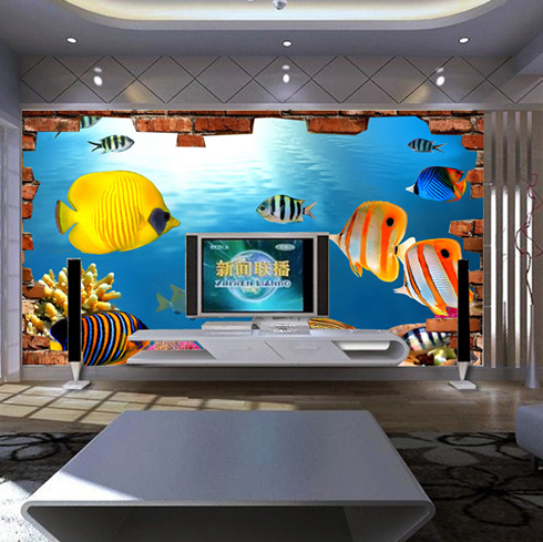 法罗帝亚3D背景墙