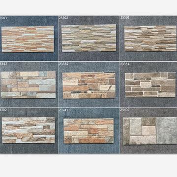 外墙砖200 400仿文化瓷砖别墅外墙砖围墙墙砖阳台墙砖外墙瓷砖