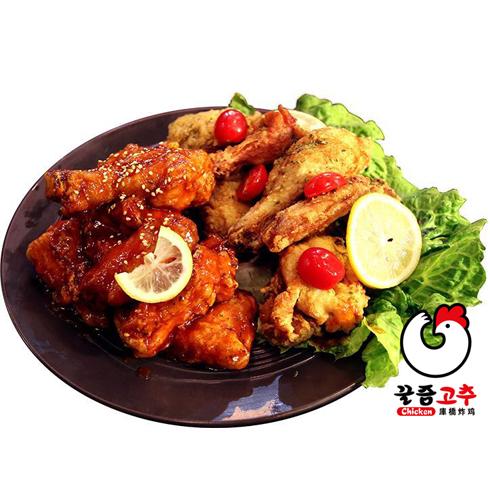 库桥炸鸡休闲小吃-炸鸡套餐