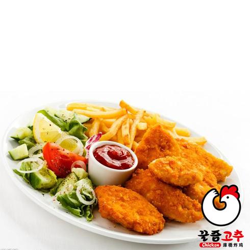 库桥炸鸡休闲小吃-炸鸡拼盘