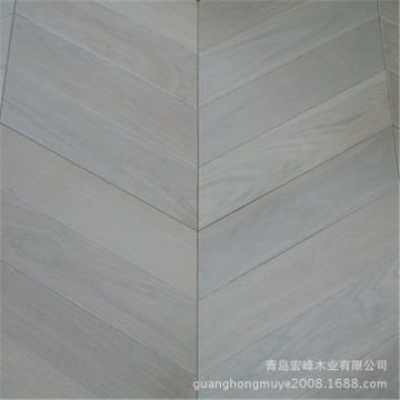 鱼骨拼实木复合拼花地板实木地板地热地板欧式实木厂家直销